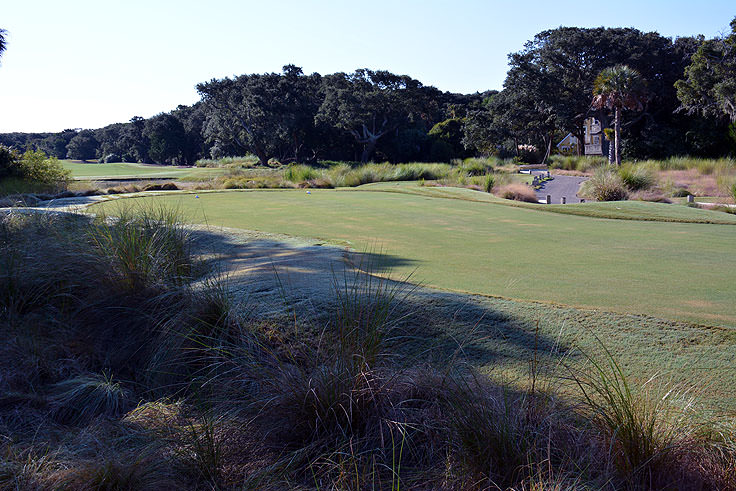 The golf course at Bald Head Country Club is beautifully maintained