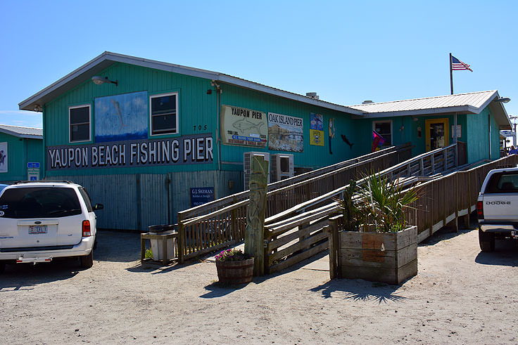 Yaupon Fishing Pier entrance