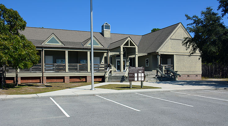 Carolina Beach State Park visitor center