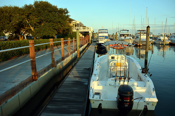 Southport Marina docking