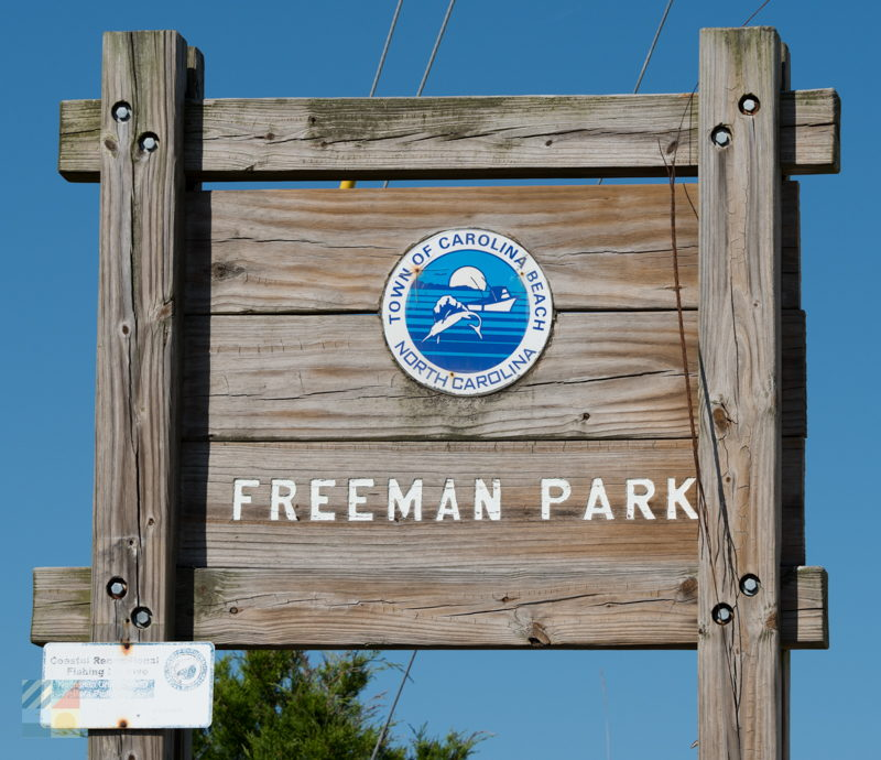 Freeman Park in Carolina Beach NC