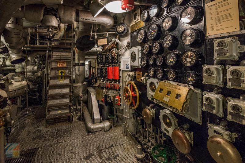 USS North Carolina battleship tour