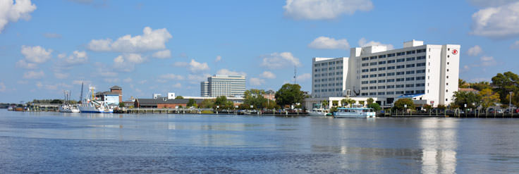 Downtown Waterfront in Wilmington, NC