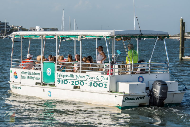 A boat tour operator in Wrightsville Beach
