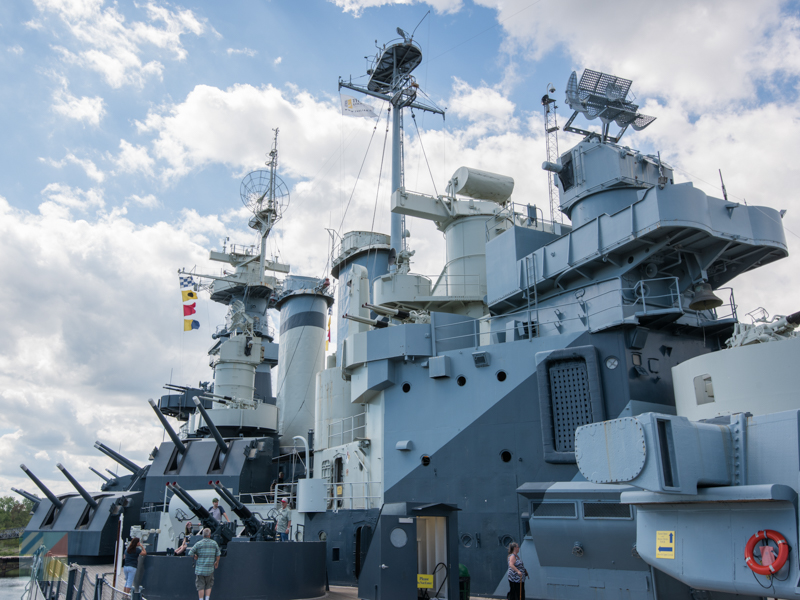 USS North Carolina tours