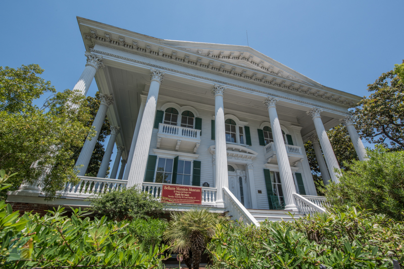 Bellamy Mansion in downtown Wilmington NC
