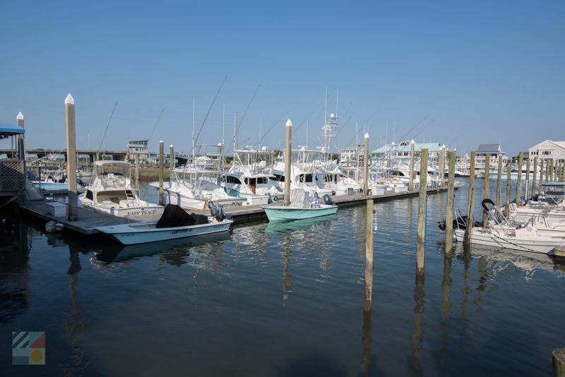 Several marinas line Wrightsville Beach