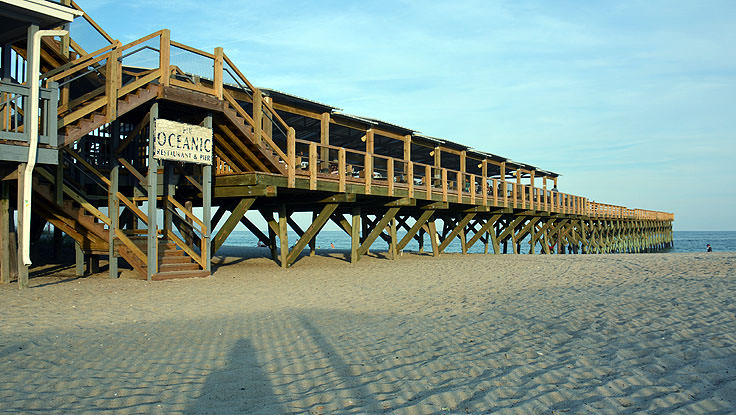 Oceanic Pier in Wrightsville Beach